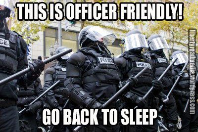 OFFICER FRIENDLY GO BACK TO SLEEP copy