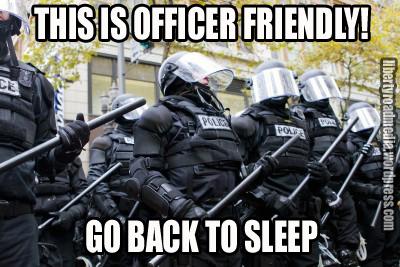 OFFICER FRIENDLY GO BACK TO SLEEP copy