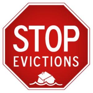 Stop Evictions _ letras enteras