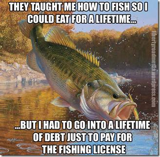 Fishing Debt Meme copy
