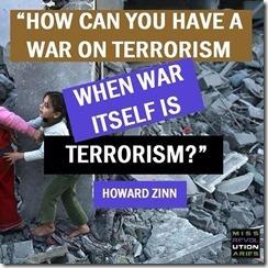 Zinn-War is terrorism