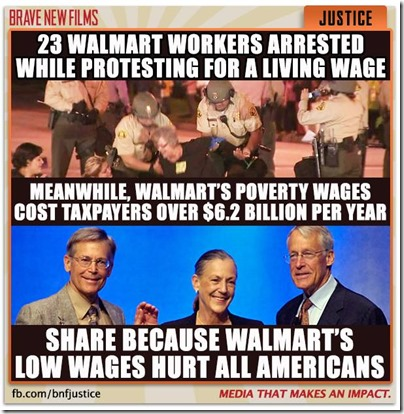 Walmart Low Wages