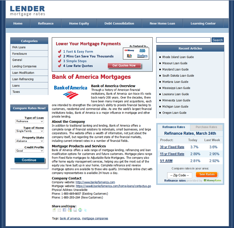 WTF? BANK OF AMERICA AND FANNIE MAE SUPPOSEDLY HAVE THE SAME ...