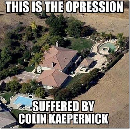 Colin Kaepernick alleged house