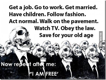 Repeat after me I am free